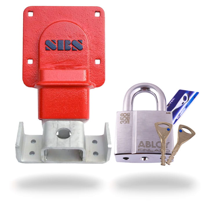 Sbs Bdl Trailer Lock Horizontal Kł 243 Dka Abloy Pl358 Pvs Shop